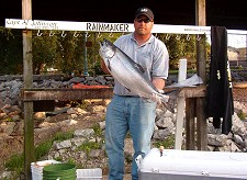 Captain Al Johnson from Rainmaker IV Sport Fishing Charters in Kenosha Wisconsin